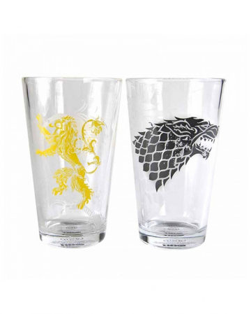 Game Of Thrones Glasses Stark And Lannister