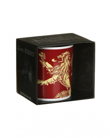 Game Of Thrones Coffee Cup Lannister