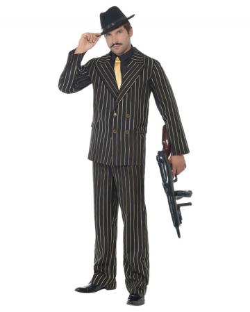 Gangster Pinstripe Suit XL