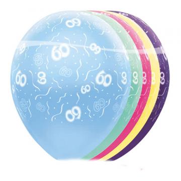 Geburtstag Ballons 60