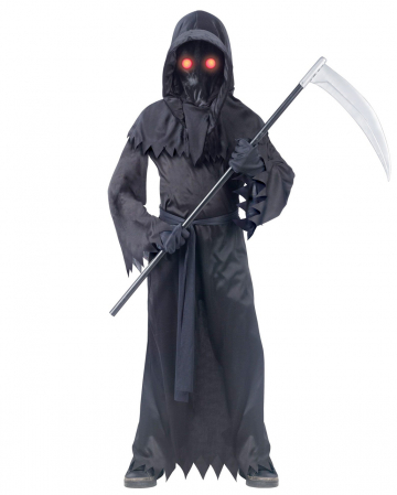 Phantom Child Costume With Shining Eyes