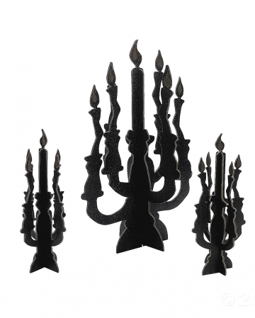 """""""Glow in the Dark"""" candle holder 3 pcs."""