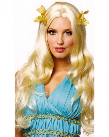 Goddess Wig With Bay Leaf Blond