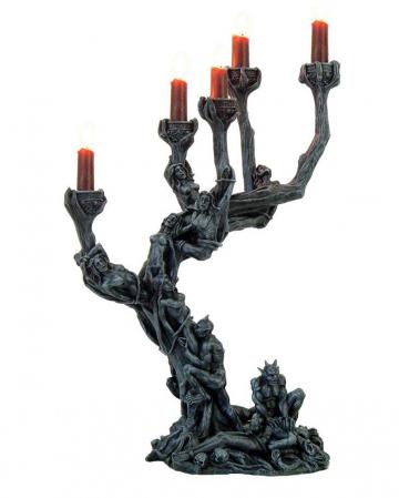 Gothic Kerzenhalter - Baum der gequälten Seelen