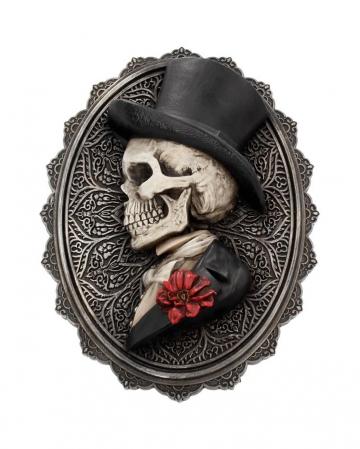 Gothic Skelett Gentleman Day of the Dead Wandbild
