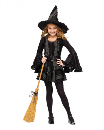 Gothic Witch Child Costume. L
