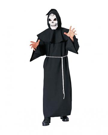 Schwarze Grim Reaper Robe