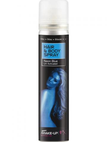 Hair and Body Spray UV blue