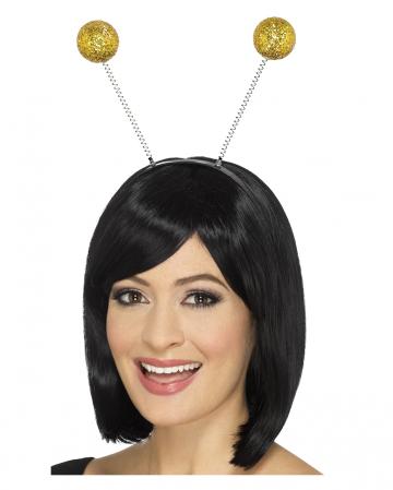 Hair Hoop With Golden Pommel