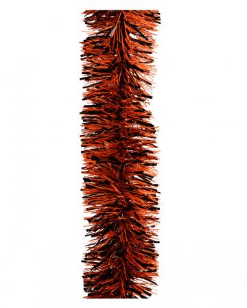 Halloween Girlande schwarz-orange 4m
