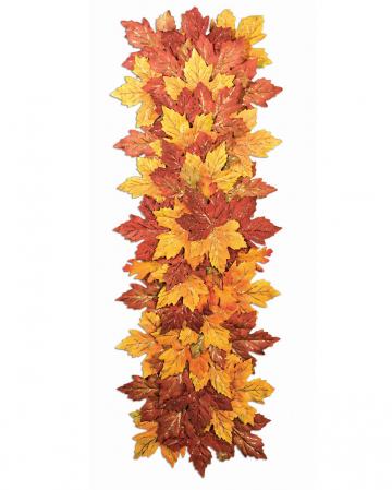 Halloween Herbstblätter Tischläufer