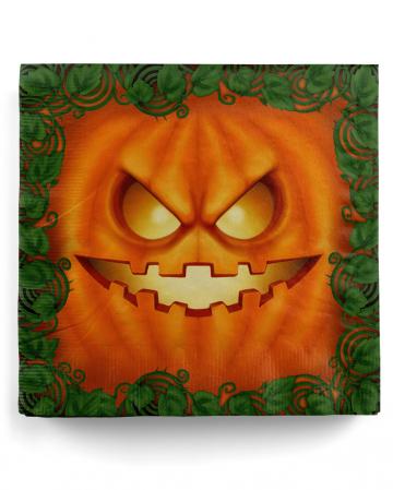 Halloween Kürbis Party Servietten 20 Stück