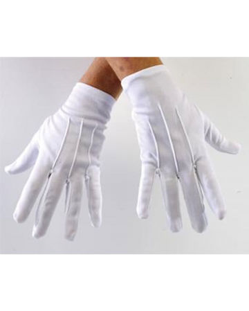 Handschuhe weiss Deluxe