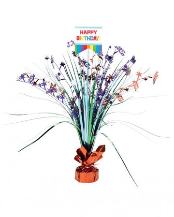 Happy Birthday Tischdeko Rainbow