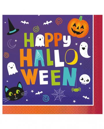 Happy Halloween Friends Servietten 16 St.