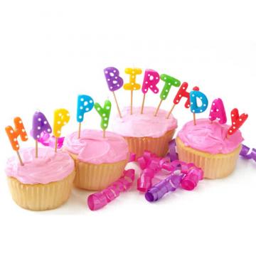 Happy Birthday Kuchenkerzen