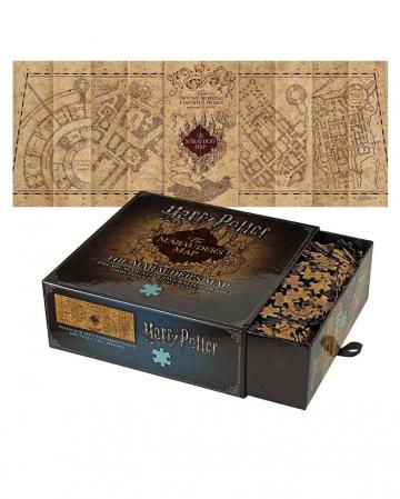 Harry Potter Karte des Rumtreibers Puzzle 1000 Teile
