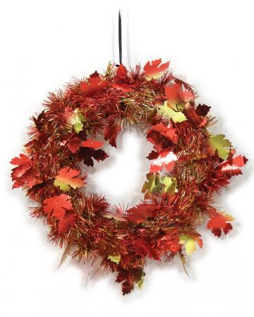 Herbstblätter Türkranz