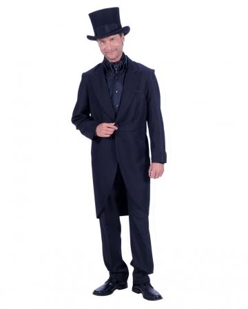Herrenfrack Deluxe schwarz