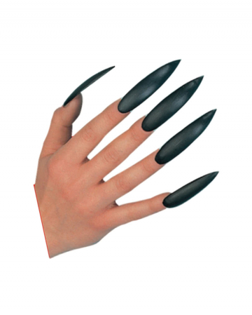 Witches Fingernails Black Self-adhesive