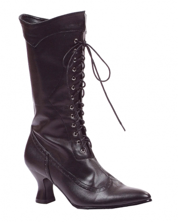 Witches Boots Amelia black