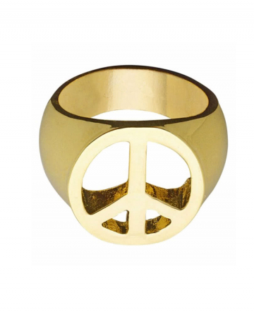 Hippie Peace & Love ring