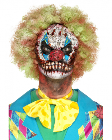 Horror Clown Schaumlatex Applikation
