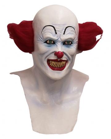 Horror Clown Maske mit Brustteil