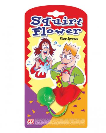 Spritzende Blume