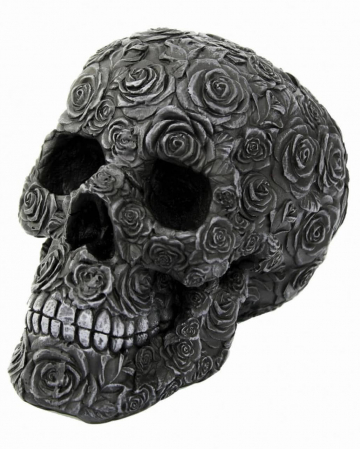 Skull Black Rose Death