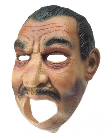 Gangster Latex Maske
