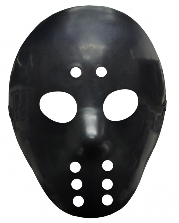 Jason Ice Hockey Mask Black