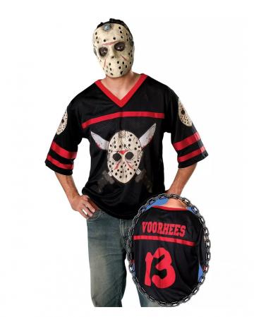 Jason Costume Shirt With Mask