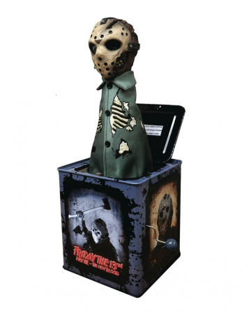 Jason Voorhees Burst-a-Box Collector's Figurine 36cm