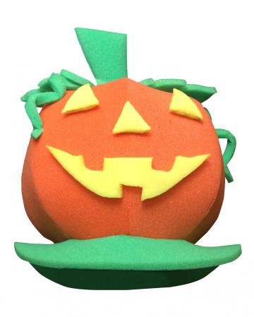 Pumpkin Foam Hat