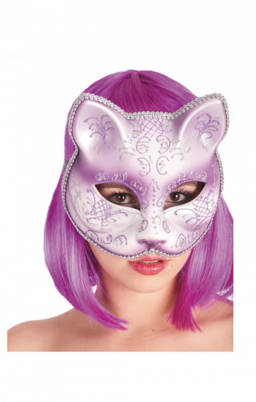 Cat Mask purple