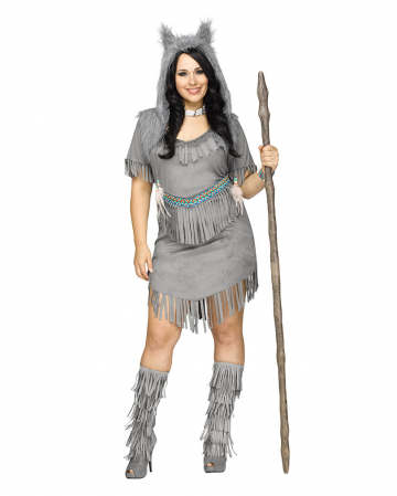 Sexy Wolf Costume Ladies Plus Size