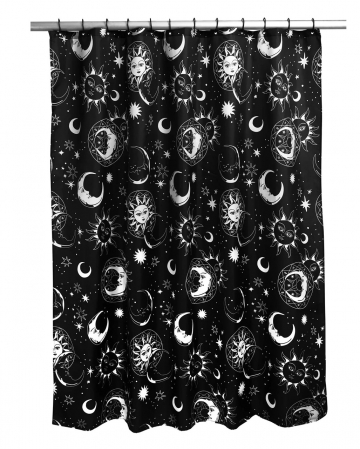KILLSTAR Shower Curtain Astral Light