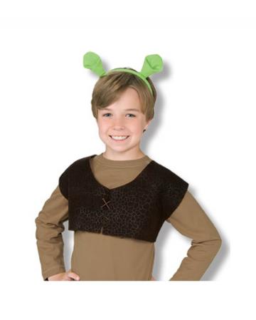 Children's Shrek Vest And Ears