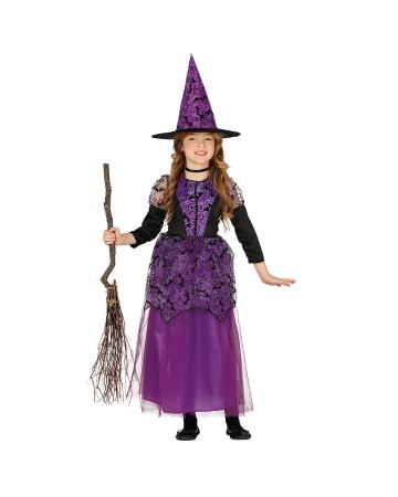 Kleine Hexe Luna Kinder Kostüm