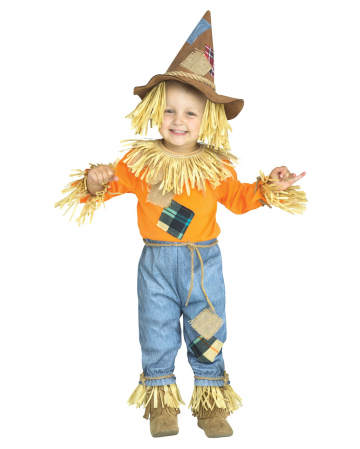 Little Scarecrow Toddler Costume