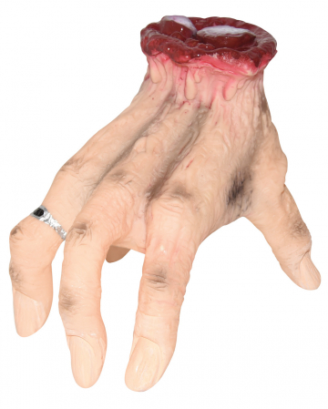 Crawling Choppy Hand Halloween Animatronic