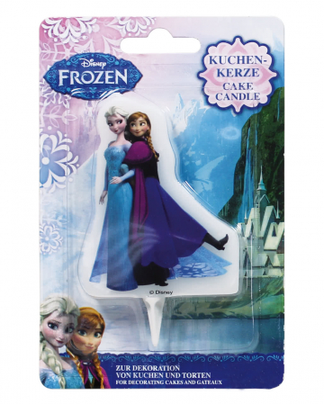 Cake candle Frozen Elsa and Anna