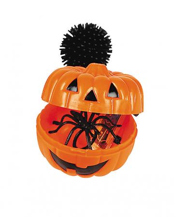 Halloween Mini Kürbis mit Überraschung 12 St.