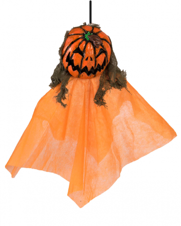 Pumpkin Ghost Hanging Figure 30 Cm