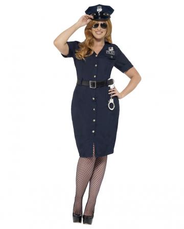 Curvy NYC Policewoman Plus Size Costume