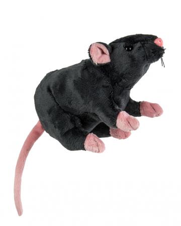 Cuddly Toy Rat 19cm Gray