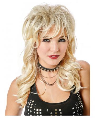 Lady Rocker Wig Blonde