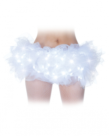 Tutu White With LED