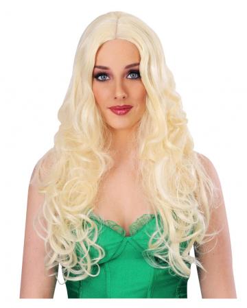 Curly blond Ladies Wig
